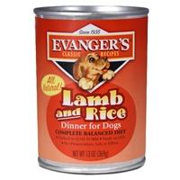 Evanger's Complete Lamb/Rice Dog, 12/13 Oz