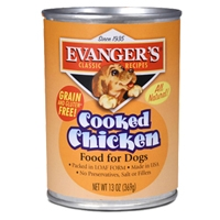 Evanger's Heritage Classic Cooked Chicken Dog Food