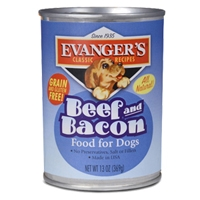 Evanger's Heritage Classic Beef & Bacon Dog Food