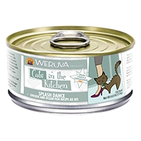Cats in the Kitchen Splash Dance: Chicken & Ocean Fish Recipe Au Jus Canned Cat Food