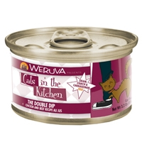 Weruva Chicken & Beef Recipe Au Jus 24/3.2oz Cans The Double Dip