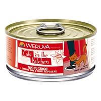 Weruva Sardine, Tuna & Turkey Recipe Au Jus 24/6.0 oz. Cans Two Tu Tango