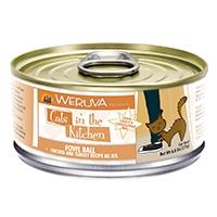 Weruva Chicken & Turkey Recipe Au Jus 6.0 oz. Cans Fowl Ball