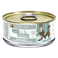 Weruva Chicken & Ocean Fish Recipe Au jus 24/6.0 oz. Cans Splash Dance