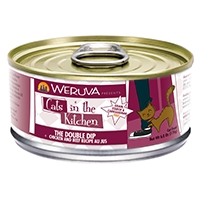 Weruva Chicken & Beef Recipe Au Jus 6.0 oz. Cans The Double Dip