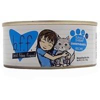 Weruva Best Friend Feline (BFF) Tuna and Shrimp Sweethearts 8/5.5 oz Tray