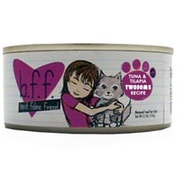 Weruva Best Friend Feline (BFF) Tuna and Tilapia Twosome 8/5.5 oz Tray