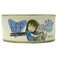 Best Friend Feline (BFF) Tuna and Chicken Chuckles Cat Food, 5.5 oz
