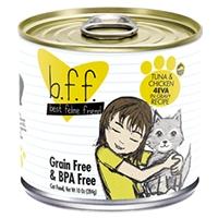 Weruva Best Feline Friend (BFF) Tuna & Chicken 4-Eva, 12/10 oz.
