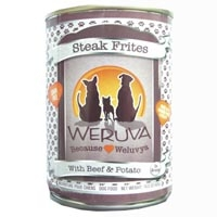 Weruva Steak Frites Can Dog 12/14 oz.