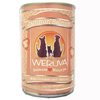 Weruva Jammin Salmon Caned Dog Food 14 oz.