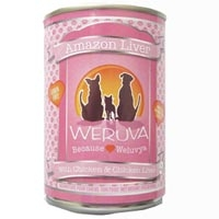 Weruva Amazon Liver Can Dog 12/14 oz.