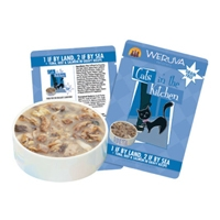 Weruva Land Sea, 3 Oz Pouch 8 Count Tray