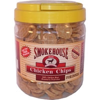 Smokehouse Chicken Chips 1lb Tub