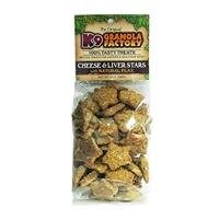 K9 Granola Mini Liver/Cheese Stars 12oz