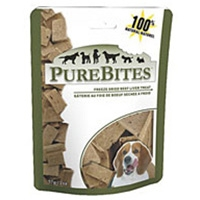 PureBites Beef/Liver Freeze Dried Treats 2oz