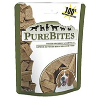 PureBites Beef/Liver Freeze Dried Treats 8.8oz