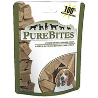 PureBites Beef/Liver Freeze Dried Treats 16.6oz