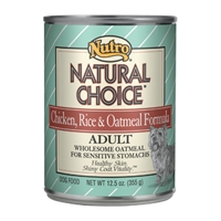 Nutro Natural Choice Dog Chicken Rice and Oatmeal 12/12.5 Oz