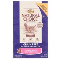 Nutro Natural Choice Grain Free Turkey and Potato, 6/4 Lb