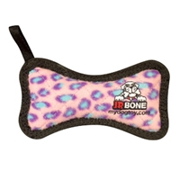 VIP PRODUCTS TUFFY JR BONE PINK LEOPARD