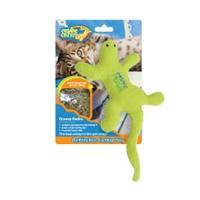 Cosmic Refillable Catnip Lizard - Groovy Gecko