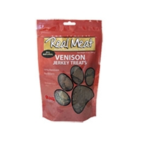 Real Meat Dog Jerky Treats Venison 4oz