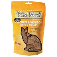 Real Meat Cat Jerky Chicken/Venison 3oz