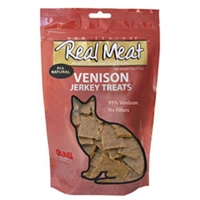 Real Meat Cat Jerky Venison 3oz