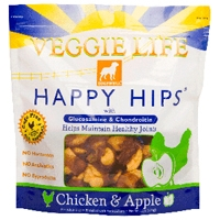 Dogswell Veggie Life® Happy Hips® Chicken & Apple  15oz