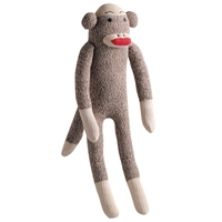 Multipet Sock Pals Small Monkey 10""