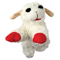Multipet Lambchop Plush Squeak Toy