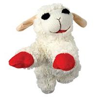 Multipet Lambchop Plush Squeak Toy