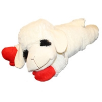 Lamb Chop Plush Squeak Toy Jumbo