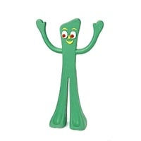 "Multipet 9"" Rubber Gumby Dog Toy"