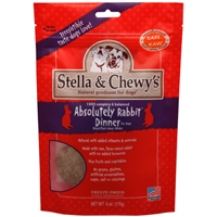 Stella and Chewy's 5.5 oz. Freeze-Dried Absolutely Rabbit Dinner