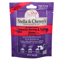 Stella & Chewy's 8 oz Freeze Dried Heavenly Herring & Tuna Dinner for Cats