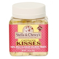 Stella & Chewy's Carnivore Kisses Freeze Dried Salmon Treats 2.75 oz.