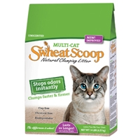 Swheat Scoop Multi-Cat Litter 4/14 lb. Bags