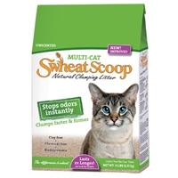 Swheat Scoop Multi-Cat Litter 4/14 lb. Bags