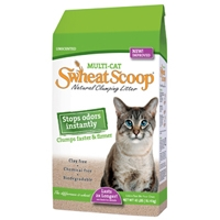 Swheat Scoop Multi-Cat Litter 40 lb. Bag