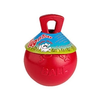 Jolly Pets Tug-N-Toss Red 10""