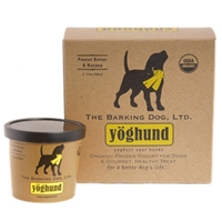 Yoghund Organic Banana & Peanut Butter Frozen Yogurt 4 Pack