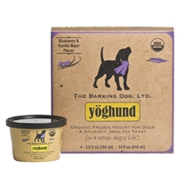 Yoghund Organic Blueberry & Vanilla Bean Frozen Yogurt 4 Pack
