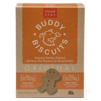 Cloud Star Original Buddy Biscuits Peanut Butter 16 oz.