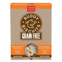 Grain Free Oven Baked Buddy Biscuits Dog Treats - Homestyle Peanut Butter