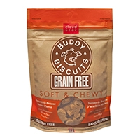 Grain Free Soft & Chewy Buddy Biscuits Dog Treats - Homestyle Peanut Butter