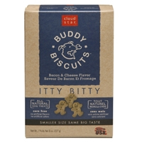 Cloud Star Itty Bitty Buddy Biscuits Bacon & Cheese 8 oz.