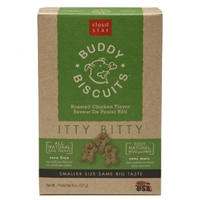 Cloud Star Itty Bitty Buddy Biscuits Roasted Chicken 8 oz.