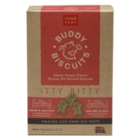Cloud Star Itty Bitty Buddy Biscuits Sweet Potato 8 oz.